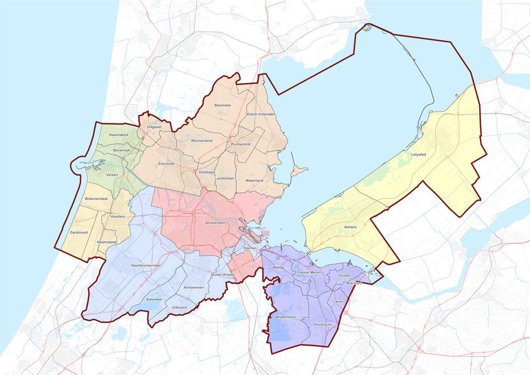 MRA: Interactieve kaart - locaties